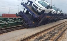 Los Cercanías a Castellón sufren fuertes demoras al descarrilar un tren de mercancías