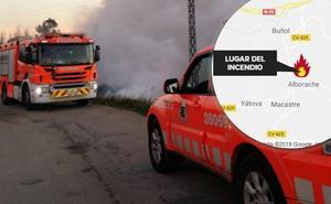 Evacuados 73 niños por un incendio en un albergue en Alborache