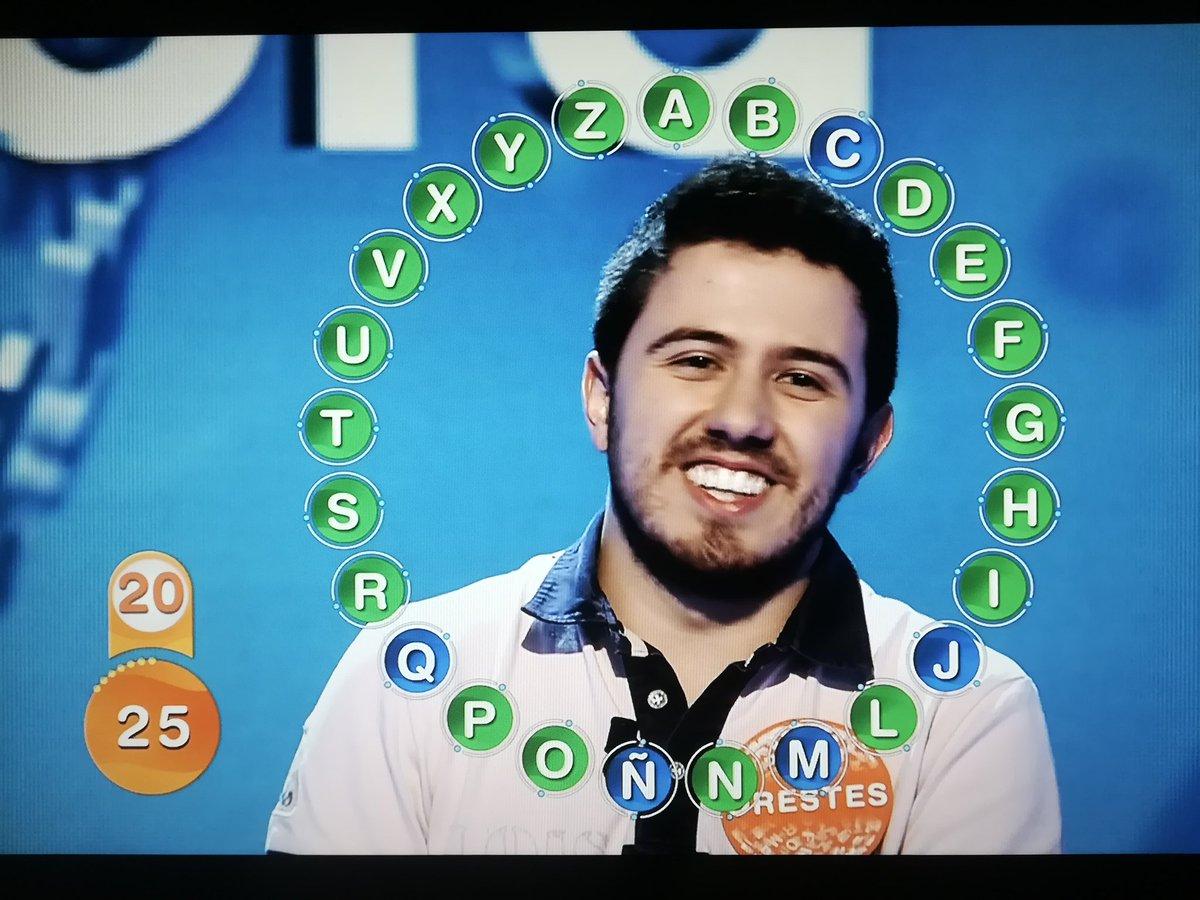 Con la 'I': la palabra que falló Orestes en Pasapalabra y que le dejó sin el bote de 454.000 euros