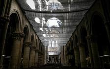 El hallazgo dorado en la bóveda de Notre Dame tras el incendio