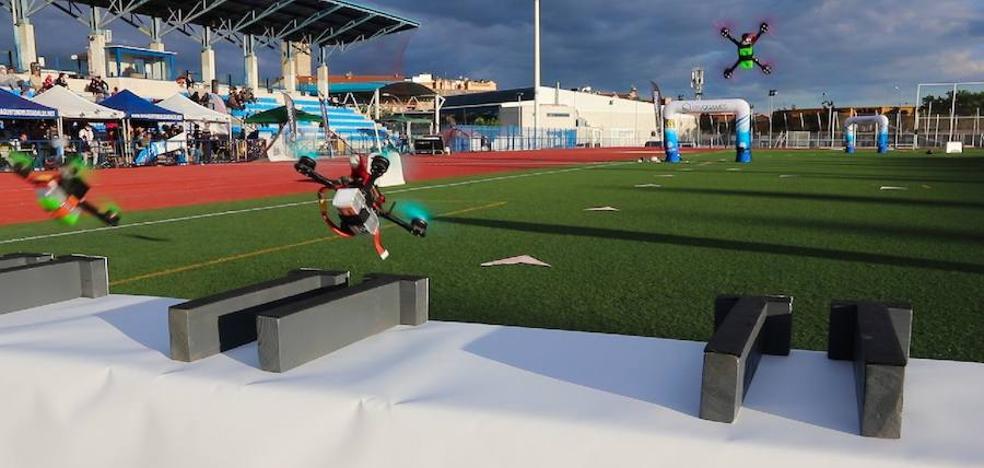 Valencia, en la élite del pilotaje de drones