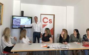 Ciudadanos Dénia recupera el proyecto de la Cantera del Castillo con auditorio, hotel y parking de 2.000 plazas