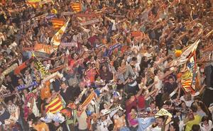 La final de Copa podrá verse en pantalla gigante en la plaza del Ayuntamiento de Valencia