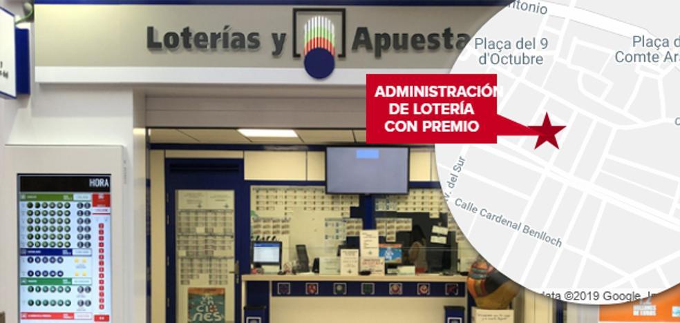 Un acertante valenciano gana 307.000 euros con el primer premio de la Bonoloto