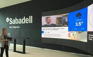 El Sabadell abre su primer centro de cultura empresarial en Valencia