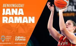 El Valencia Basket cierra una plantilla para soñar con Jana Raman