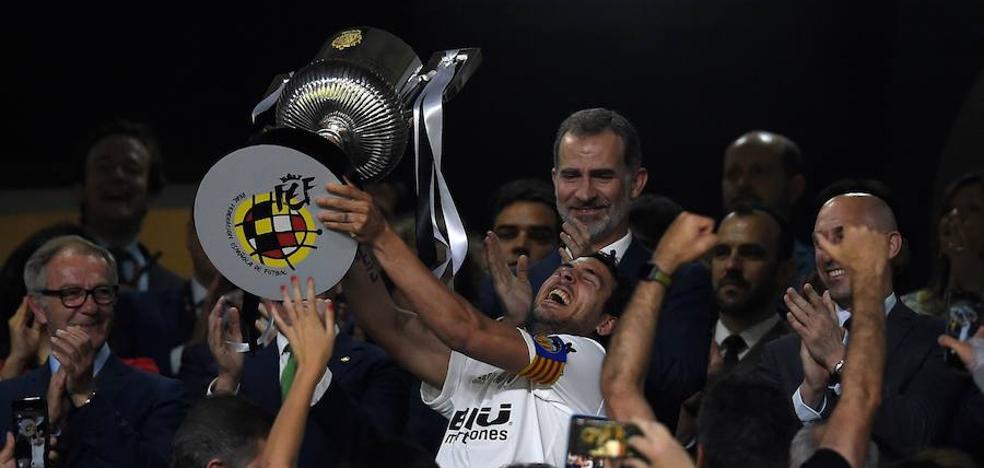 Así celebrará hoy el Valencia CF su octava Copa del Rey: a la Basílica y fin de fiesta en el Ayuntamiento