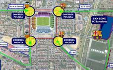 Todo sobre la Fan Zone del Barça en Sevilla: conciertos, actividades y dónde está