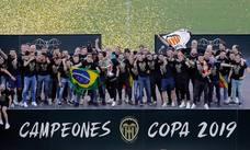 La celebración del Valencia CF en imágenes