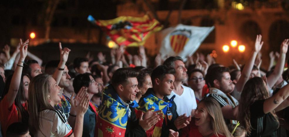La euforia se desata en Valencia