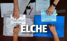 Resultados en Elche de las elecciones municipales de 2019: escrutinio y escaños