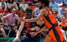 Louis Labeyrie, pívot francés del Valencia Basket, elegido mejor jugador de la última jornada