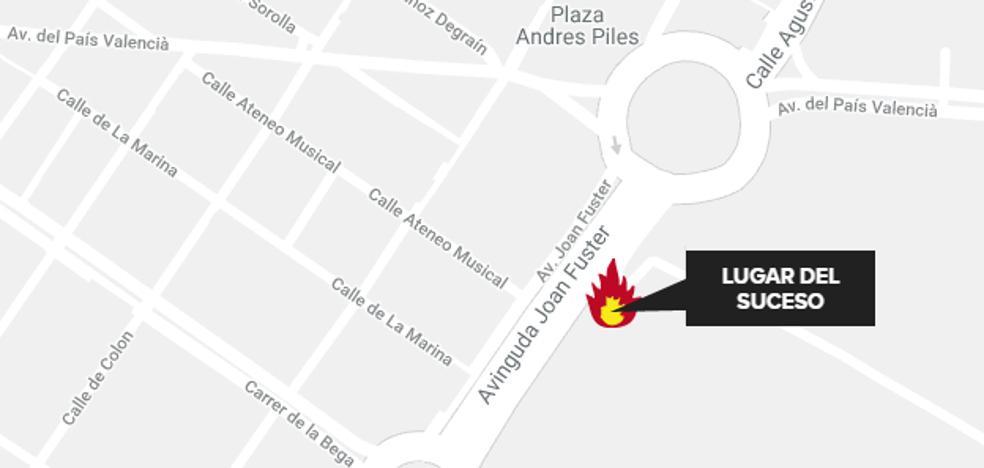 Una mujer muere al arder una vivienda en Cullera