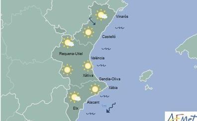 El tiempo para este lunes en Valencia: chubascos aislados para el inicio de la semana