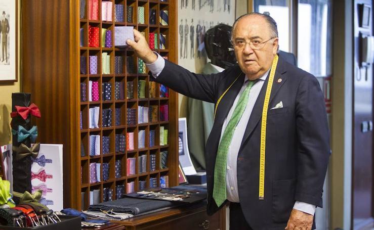 Antonio Puebla, uno de los mejores sastres del mundo.