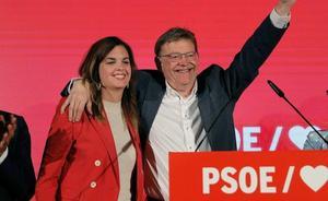 Ximo Puig: «Después de 30 años, el PSPV es el partido más importante de la Comunitat»