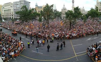 Valencia se lanza a celebrar la Copa del Rey: «We are the champions»
