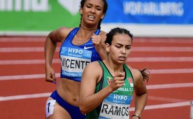 María Vicente se queda a 5 puntos del récord de España absoluto de heptatlón