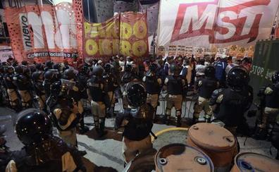 Huelga general en Argentina contra los ajustes de Macri