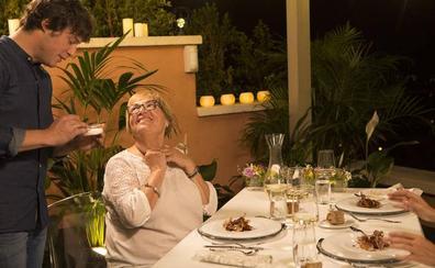 Jordi Cruz 'cena con mamá' en La 1 de TVE