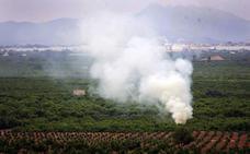 Prohibidas las quemas agrícolas hasta octubre para prevenir incendios en la Comunitat