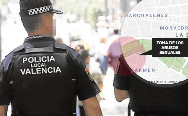 Detenido por acosar y hacer tocamientos a una mujer en el antiguo cauce del río Turia en Valencia