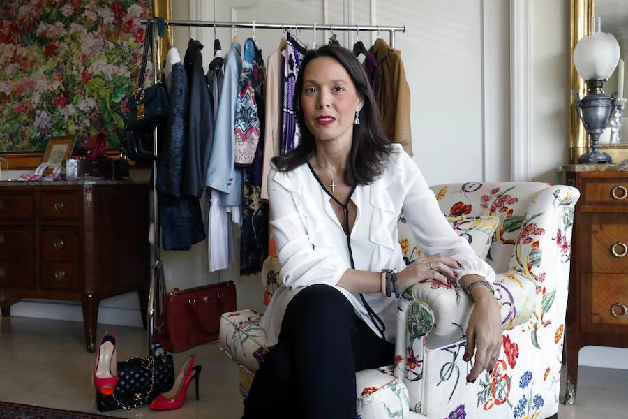 El armario de María Senent, clásica y sofisticada
