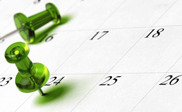 Resultado de imagen de calendario fin curso