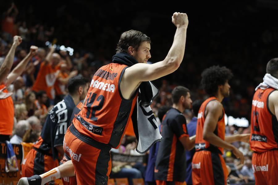 El Valencia Basket-Unicaja, en imágenes