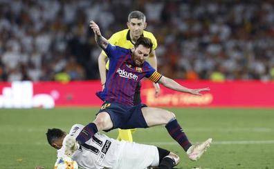 Messi revela que su hijo iba con el Valencia CF en la final de Copa