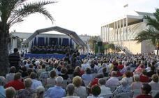 Música al aire libre en los Jardines del Palau