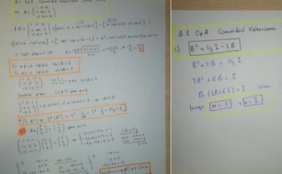 CSIF pide criterios de evaluación «acordes» con la dificultad del examen de Matemáticas de la Selectividad