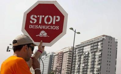 La Comunitat registra 1.524 ejecuciones hipotecarias sobre viviendas en el primer trimestre