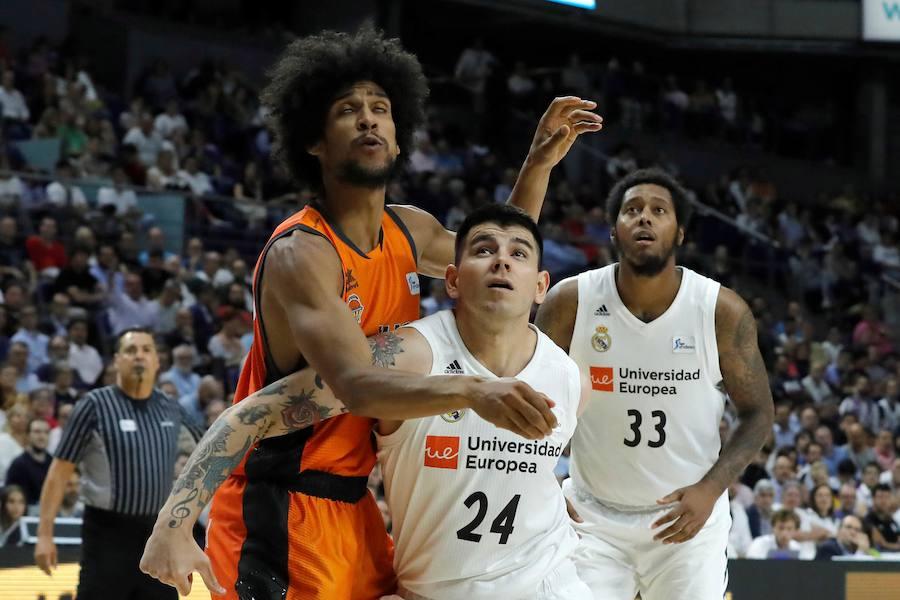 El Real Madrid-Valencia Basket, en imágenes