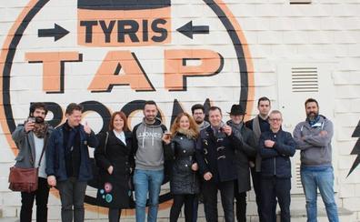 Cerveza Tyris de trigo y solidaria