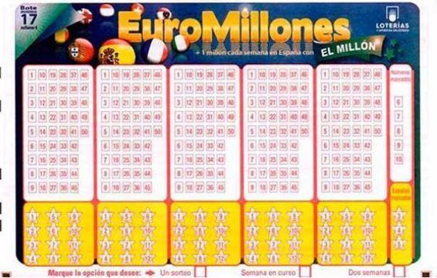 El bote del Euromillones del martes 11 de junio es de 139 millones de euros