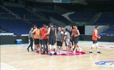 El Valencia Basket prepara en el WiZink el segundo asalto de la semifinal
