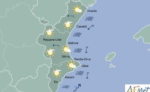 El tiempo en las Hogueras de Alicante 2019