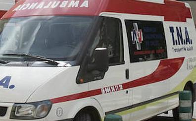 Hospitalizado un ciclista de 16 años tras un accidente de tráfico en Benissa