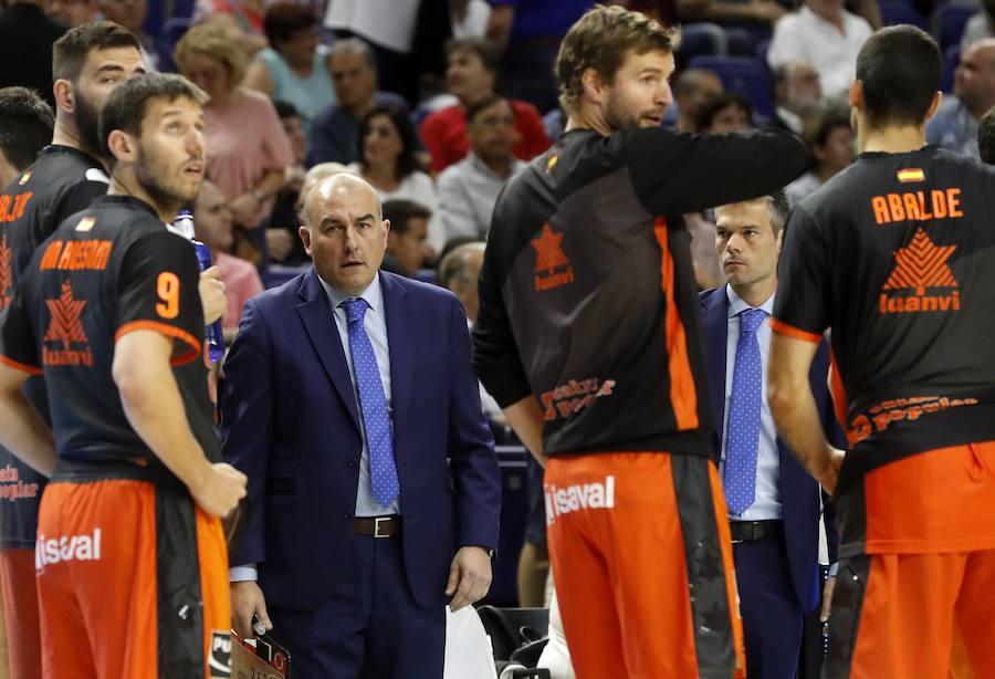 El Real Madrid-Valencia Basket en imágenes