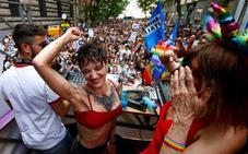 Roma celebra su Día del Orgullo Gay