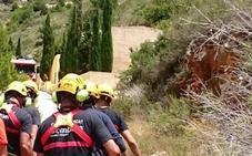 Rescatan a una senderista herida tras caerse en la cala Llebeig
