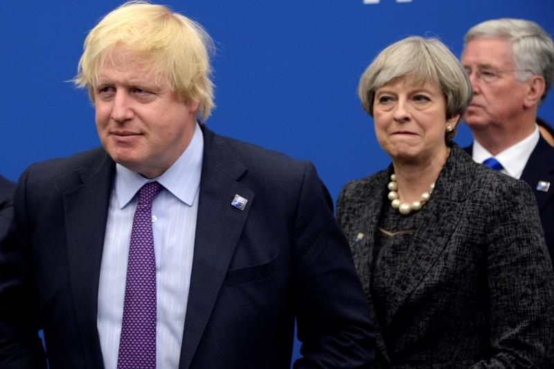 Boris Johnson entra en el laberinto heredado de May
