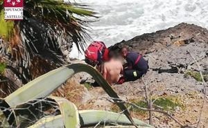 Cinco menores rescatados en 24 horas en la misma cala valenciana