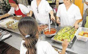 Comida fresca y sana para los escolares valencianos