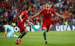Portugal, campeón de la Liga de las Naciones con un gol de Guedes