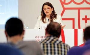 La vicepresidenta Oltra dará la réplica a Puig en el debate de investidura del presidente