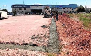 Inician los trabajos para instalar una báscula municipal en el polígono