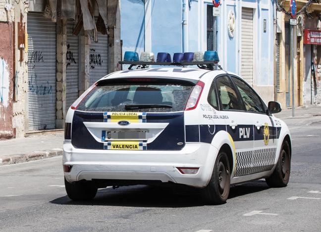 Detenido un hombre en Valencia por amenazar a su pareja: «Nadie te encontrará»