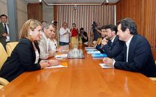 PP y Cs sientan las bases para los pactos de gobierno en Ayuntamiento y Diputación